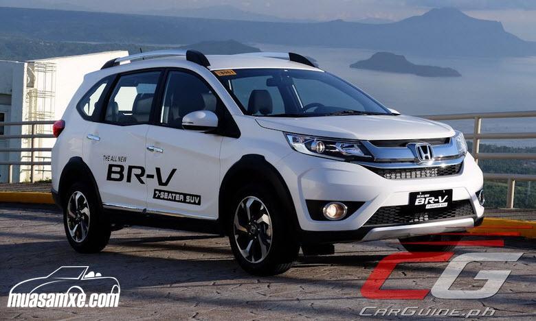 Cận cảnh ngoại thất xe Honda BRV